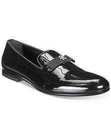 Roberto Cavalli Men's Patent Bow Loafer