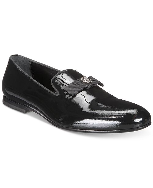 079051459cd Roberto Cavalli Men s Patent Bow Loafer   Reviews - All Men s Shoes ...