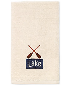 Avanti Lakeville Cotton Embroidered Fingertip Towel