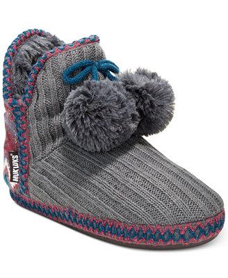 Women's Amira Boot Slippers by Muk Luks