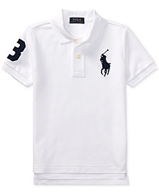 Ralph Lauren Embroidered Cotton Polo, Toddler Boys