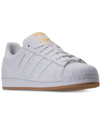 adidas Men\u0027s Superstar Gum Casual Sneakers from Finish Line