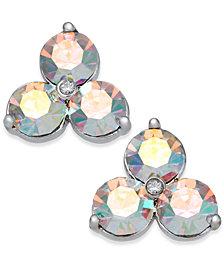 kate spade new york Triple Stone Stud Earrings