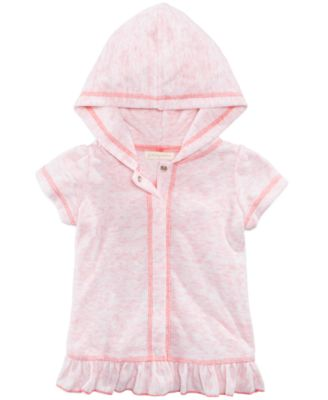 Hooded Cover Up, Baby Girls, Created for Macy's