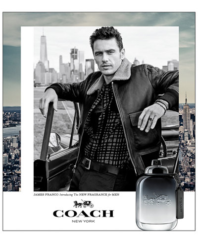 COACH FOR MEN Fragrance Collection