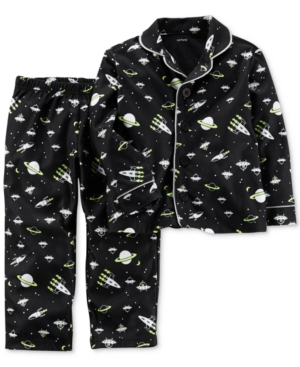 Carter's 2-Pc. Space-Print...