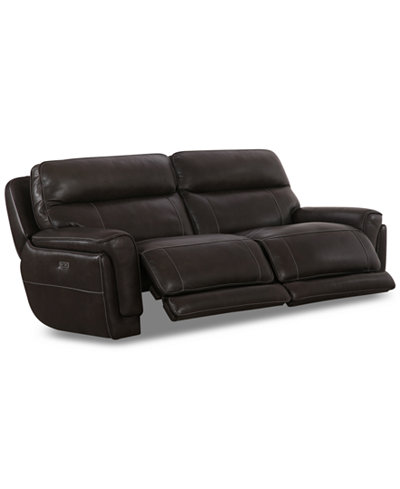 Summerbridge 84 Quot 2 Pc Leather Sectional Sofa With 2 Power
