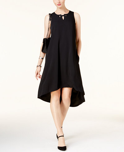 Alfani High-Low Trapeze Dress, Created for Macy's