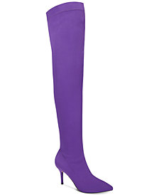 I.N.C. Zaliaa Pointed Toe Over-the-Knee Boots, Created for Macy's