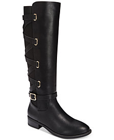 Thalia Sodi Veronika Wide-Calf Tall Boots, Created for Macy's