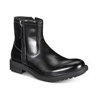 Kenneth Cole Reaction Unlisted Men's C-Roam Zip-Up Boot (Black)