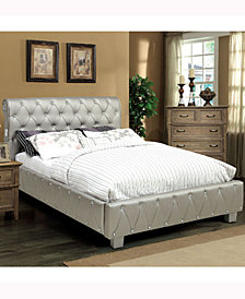 Paytin Upholstered Bed Collection with Bluetooth Technology, Quick Ship