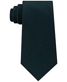 Men's Pindot Ground Diamond Silk Tie