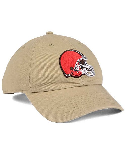 sneakers for cheap 0dfff fe4f2 ... promo code for 47 brand cleveland browns khaki clean up cap 954ba e9fef