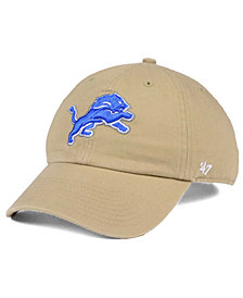 '47 Brand Detroit Lions Khaki CLEAN UP Cap