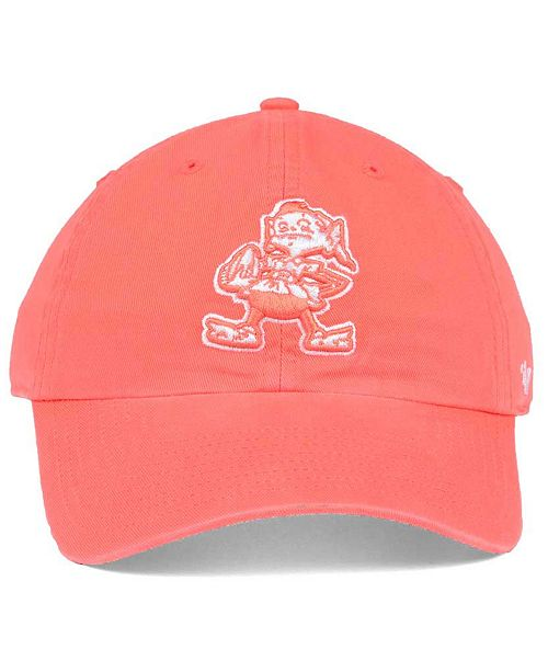 6b3c2e24be575 Women's Cleveland Browns Pastel CLEAN UP Cap