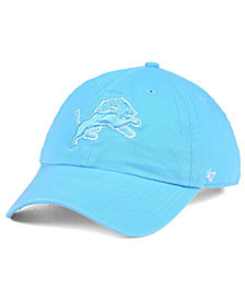 '47 Brand Women's Detroit Lions Pastel CLEAN UP Cap