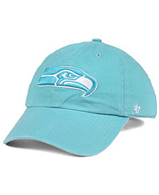 '47 Brand Women's Seattle Seahawks Pastel CLEAN UP Cap