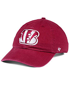 '47 Brand Cincinnati Bengals Cardinal CLEAN UP Cap
