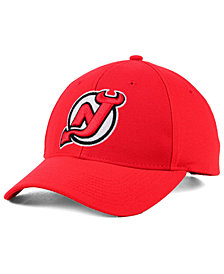 adidas New Jersey Devils Core Basic Adjustable Snapback Cap