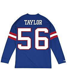 Mitchell & Ness Men's Lawrence Taylor New York Giants Retro Player Name & Numer Longsleeve T-Shirt