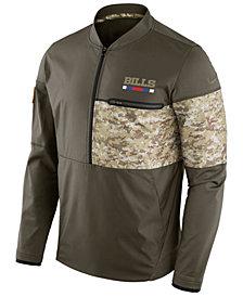 Nike Men's Buffalo Bills Salute To Service Hybrid Half-Zip Jacket