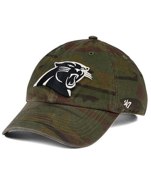 a121f8831 47 Brand Carolina Panthers Regiment CLEAN UP Cap & Reviews - Sports ...