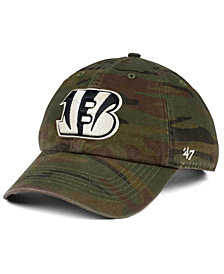 '47 Brand Cincinnati Bengals Regiment CLEAN UP Cap