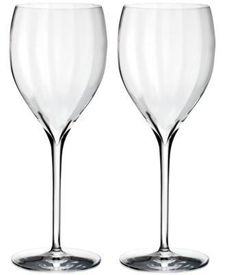 Waterford Optic Sauvignon Blanc Glass Pair