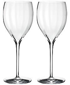 Waterford Elegance Optic Sauvignon Blanc Glass Pair