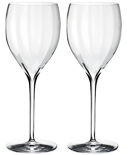 Waterford Elegance Optic Sauvignon Blanc Glass Pair