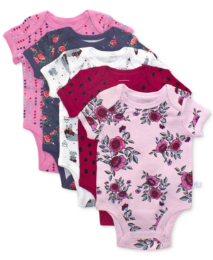 Rosie Pope 5Pk Enchanted Forest Cotton Printed Bodysuits Baby Girls (024 months)