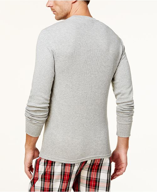 Polo Ralph Lauren Men s Ultra Soft Waffle-Knit Thermal Shirt ... 342894e24cd