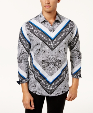 I.n.c. Men's Paisley Shirt, Created for Macy's