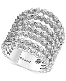 Pavé Classica by EFFY® Diamond Multi-Layer Ring (2-3/4 ct. t.w.) in 14k White Gold