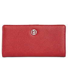Giani Bernini Boxed Leather Bifold Wallet, Created for Macy's