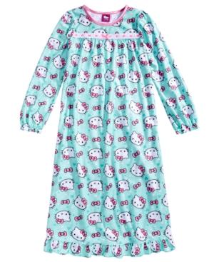 Hello Kitty Printed Nightgown Little Girls (46X)  Big Girls (716)