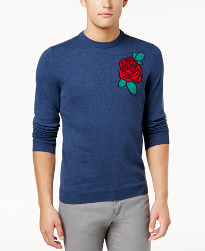 American Rag Men's Rose Soft Sweater, Created for Macy's