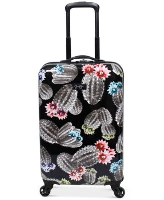 "Cactus Printed 21"" Hardside Spinner Suitcase"