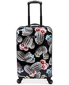 """Cactus Printed 21"""" Hardside Spinner Suitcase"""