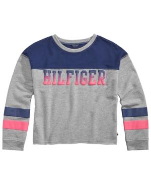 Tommy Hilfiger Colorblocked Pullover Sweatshirt Big Girls (716)