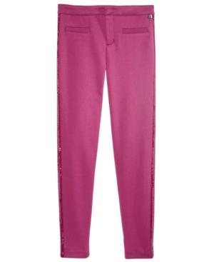 Tommy Hilfiger SequinStripe Ponte Knit Pants Big Girls (716)