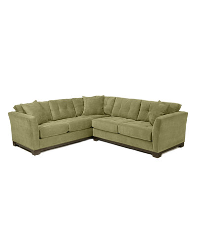 Elliot fabric microfiber 2 piece sectional sofa custom for Elliot fabric microfiber sectional sofa 3 piece