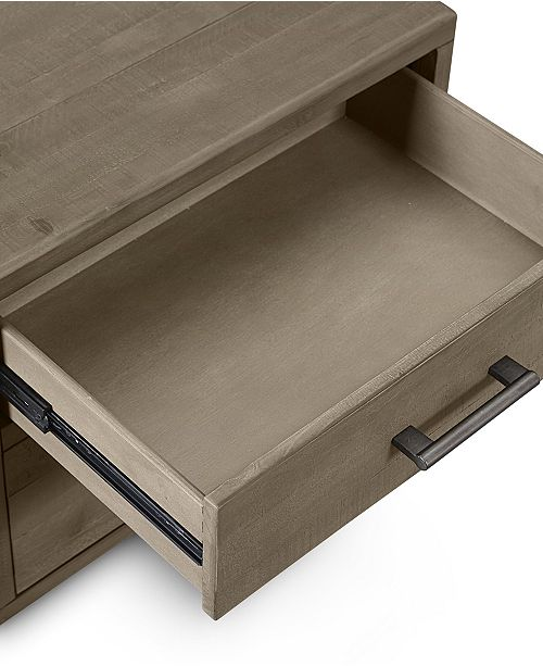 Ashley Furniture In Brandon Fl: Furniture Brandon USB Power Outlet Nightstand, Created For