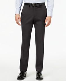 25ab8dc2d03a Kenneth Cole Reaction Men's Slim-Fit Stretch Gabardine Dress Pants