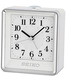 Seiko Silver-Tone Alarm Clock