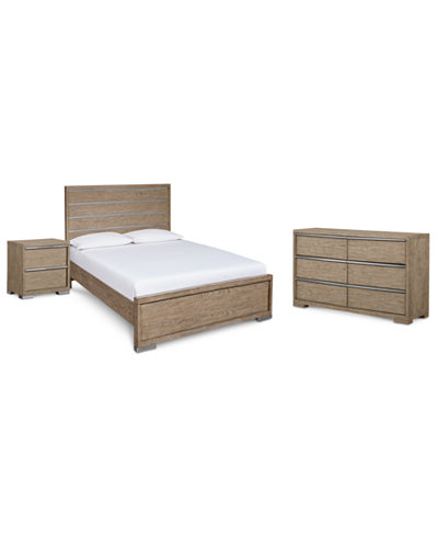 Altair Bedroom Furniture, 3-Pc. Set (Queen Bed, Dresser & Nightstand), Created for Macy's
