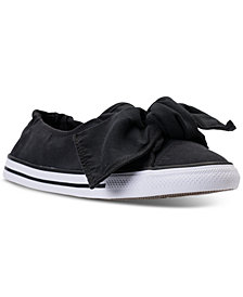 Converse Women's Peached Canvas Knot Casual Sneakers from Finish Line