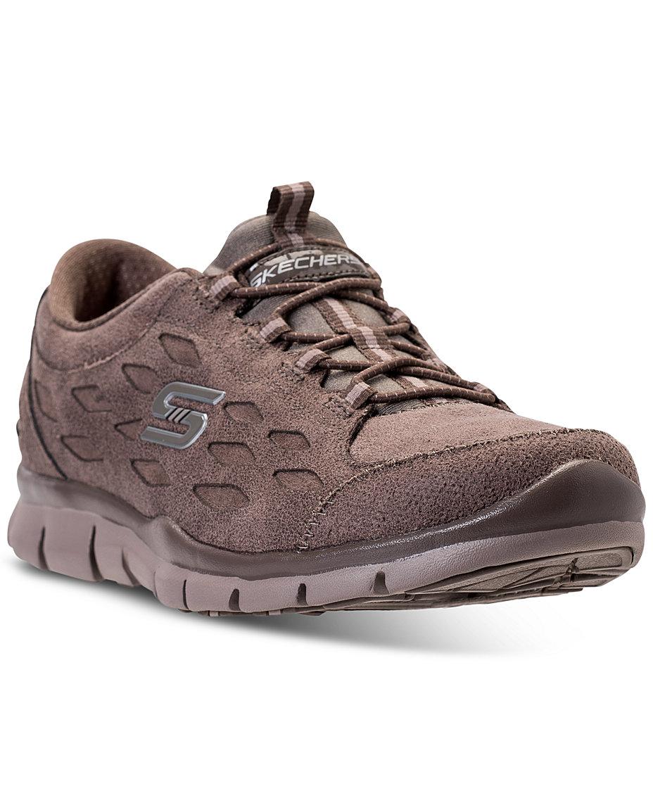 Skechers Women s Gratis - Simply Serene Walking Sneakers from Finish ... 5a41327745
