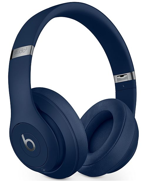 Beats By Dr Dre Studio 3 Noise Cancelling Bluetooth Wireless Headphones Reviews Gifts Games Men Macy S